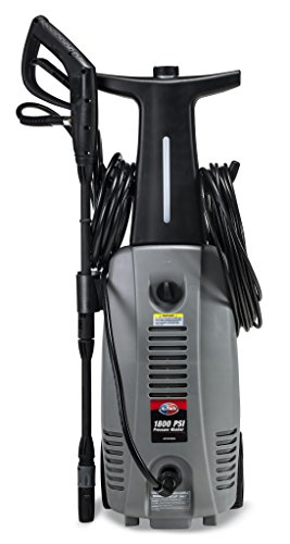 All Power America APW5004 1800 PSI 1.6 GPM Electric Pressure Washer with Hose Reel for House, Walkway, Car and Outdoor Cleaning