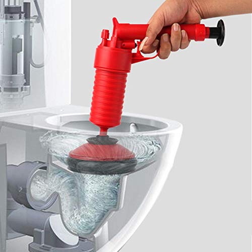WXQDD dredge Air Power Drain Blaster Gun Hochdruck Leistungsstarke Manuelle Spüle Kolbenöffner Reiniger Pumpe Für Bad Toiletten Badezimmer Dusche Ki