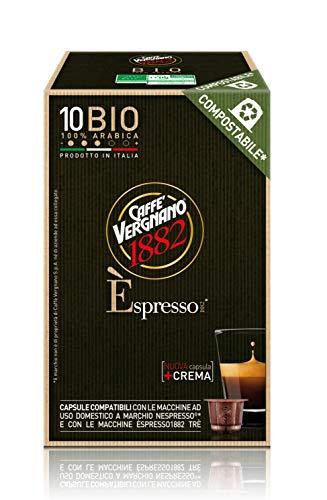 OFFERTA RISPARMIO VERGNANO: 120 Capsule Compatibili per Nespresso miscela BIO