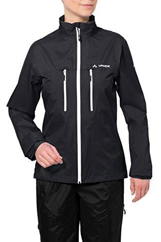 Vaude Damen Tiak Jacket - Radregenjacke,black,36/XS