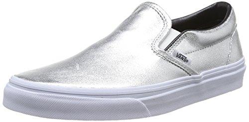 Vans Unisex-Erwachsene Classic Slip-On, Silber Argent Silver, 42.5 EU