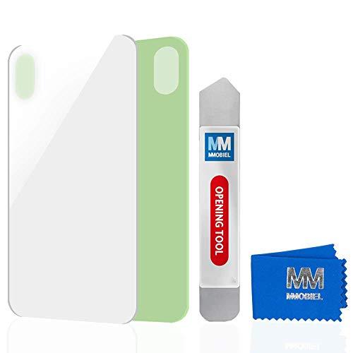 MMOBIEL Tapa Trasera de Vidrio Real de Reemplazo Compatible con iPhone XS...