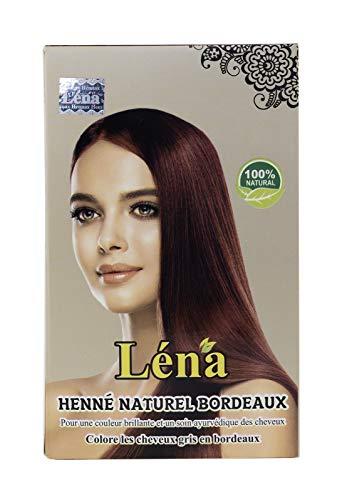 Burgunder henna, haarfarbe dauerhafte, revitalisierung, haarpflege, glanz, pflanzenhaarfarbe, weiße haare bedecken und 100% natürlich - 100 g