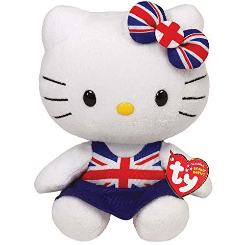 Ty Peluche - Hello Kitty Union Jack Dress 15cm - London 2012 Olympics