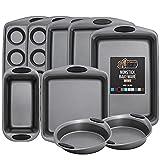 Gorilla Grip Original Kitchen Bakeware Sets, 9 Piece Baking Set with...