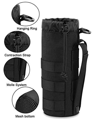 Antrix 3 Pcs Durable Nylon Tactical Military Molle Pouches Multi-Purpose Compact Water-Resistant Utility EDC Pouch…