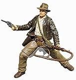 dsfew 1 Uds 10cm Dibujos Animados Anime Indiana Jones Figuras De AccióN Modelo DecoracióN MuñEcas NiñOs PVC Modelo Educativo para Juguetes De ColeccióN