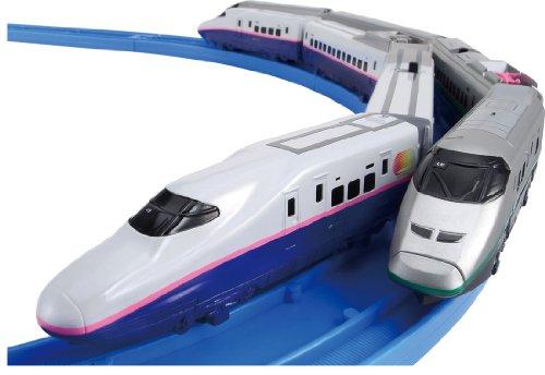 PLARAIL Advance E2 Series Yamabiko & E3 Series Tsubasa Join & Guide Rail Set ... (japan import)