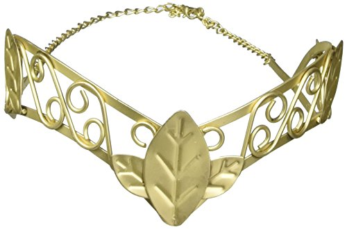 amscan 840722 God and Goddess Golden Tiara, 1 Piece