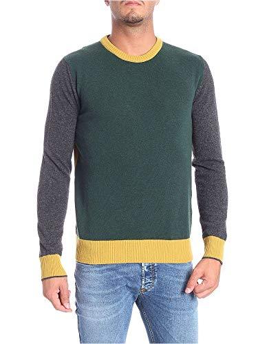 Luxury Fashion | Woolrich Heren WOMAG1798SU056148 Groen Wol Truien | Seizoen Permanent