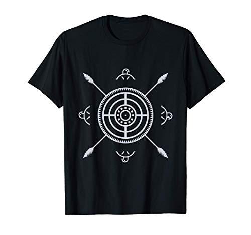 Aztec Symbol Mexiko Kultur Maya Maske Inka Krieger Geschenk T-Shirt