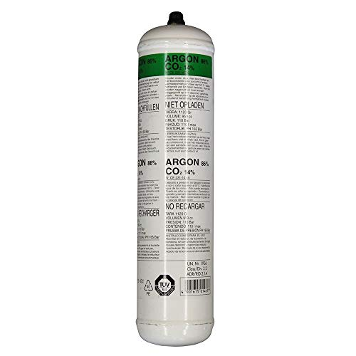Einwegflasche Mischgas