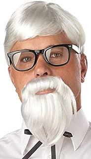 KFC Colonel Wig And Beard Set
