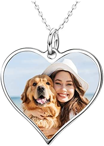 FULUJE Personalized Store Photo Necklace Custom All items free shipping Your Engraved Picture