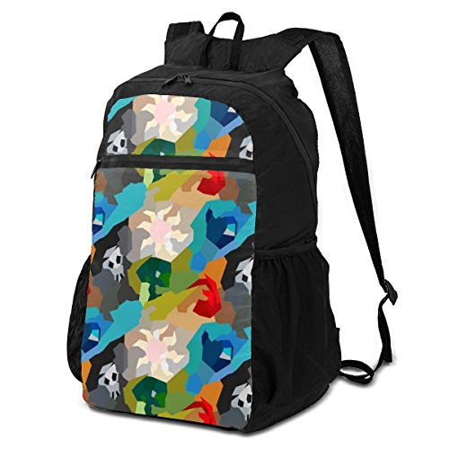 MTG Mana Pool Outdoor Travel Backpack for Men and Women,Foldable/Lightweight/Waterproof/Large-Capacity