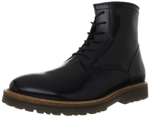Steve Madden mens Longshot combat boots, Black, 10.5 US