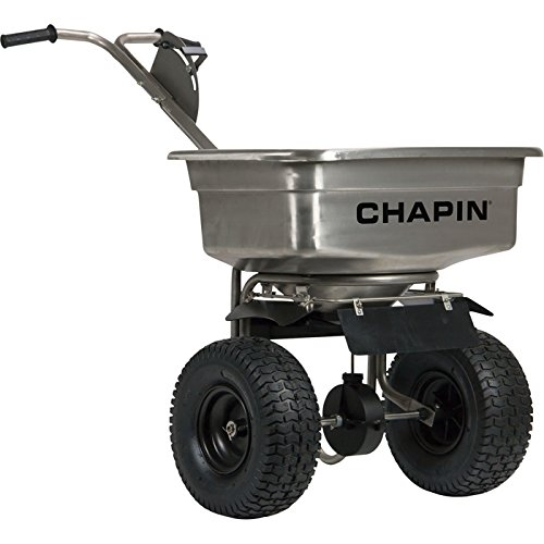 NAMR-82500B* Chapin Walk-Behind Stainless Steel Spreader — 100-Lb. Capacity