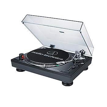 Audio-Technica AT-LP120BK-USB Direct-Drive Professional Turntable  USB & Analog  Black
