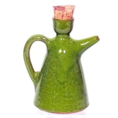 Amazing Cookware Oliekannetje, terracotta, 0,5 l, groen