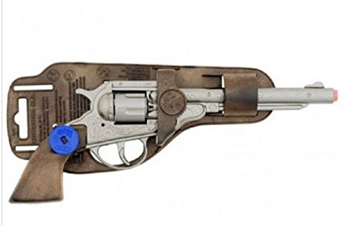 Pistolet Cow Boy Gonher En Metal (8 Coups) À Amorces Ref 3088