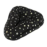 X AUTOHAUX Comfort Universal Star Pattern Bicycle Seat Cover Cushion Pad Soft Bike Saddle Seat Cover