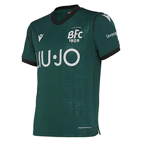 Macron Gara Third Anniversario 110 Anni Junior Bologna FC 2019/2020, Shorts Keine Genehmigung, Pullover, 58015878, Dunkelgrüm, JXL