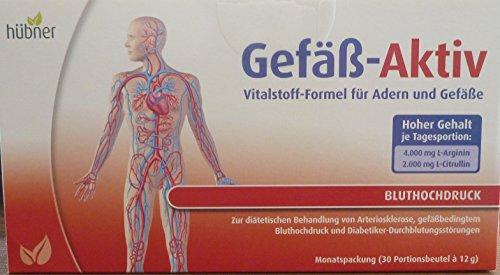 2 x Hübner Gefäß Aktiv 30 Beutel ( 60 Btl )