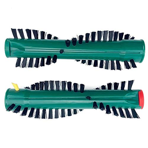 TangMengYun Boquilla para Aspiradoras 2PCS ER Roller Cepillo Kit Mopping Head Herramientas de Limpieza Compatible con VORWERK VK118 VK120 VK121 VK122 Piezas de aspiradora Universal (Color : Green)