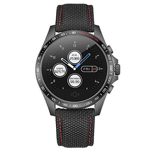 Smart Watch Touchscreen Fitness Tracker Heart Rate Blood Pressure Smartwatch Pedometer Sleep Monitor Step Calorie Message Reminder Bluetooth Watch