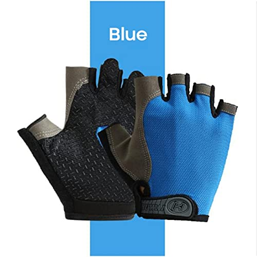 1 Pair Cycling Gloves Breathable Bicycle Gloves Half Finger Gloves MTB Mountain Bike Riding Gloves Outdoor Cycling Equipment-a136-S