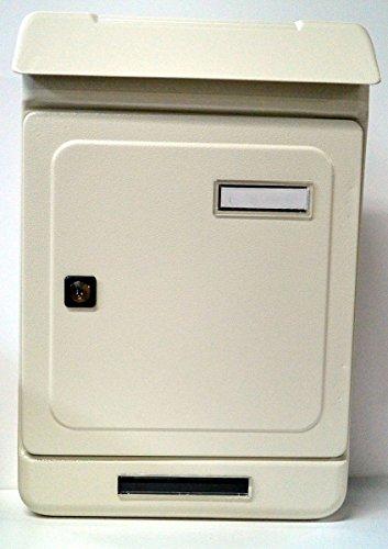 Cassetta postale acc. avorio c/tetto uno/t 395x263x70