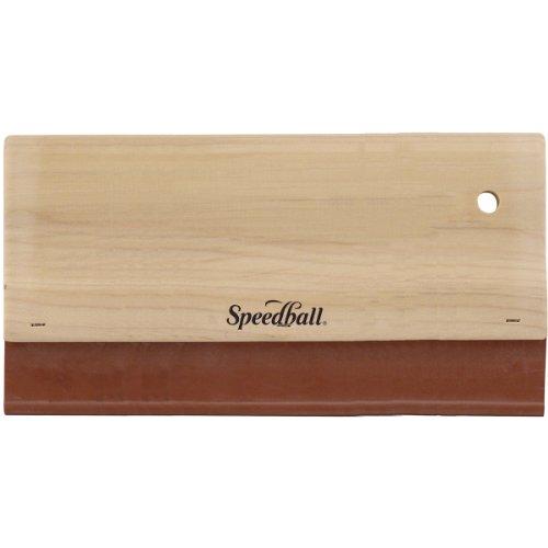 Unbekannt Speedball 25,4cm Stoff/Craft Rakel, Mehrfarbig