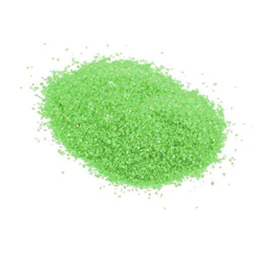 Sharplace Paquet de Sable Coloré Fin pour Art de Sable Miniature Passage Décoration - Vert
