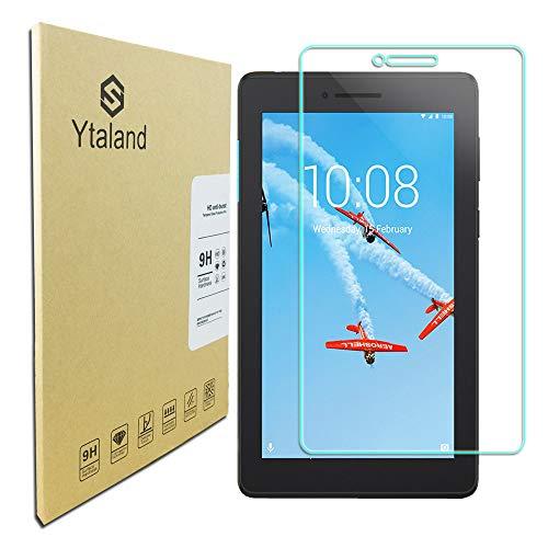 Ytaland for Lenovo Tab E7 Screen Protector, [ Anti-Fingerprints ] [Bubble-Free] Tempered Glass Screen Protector for Lenovo Tab E7 7.0 Inch Tablet