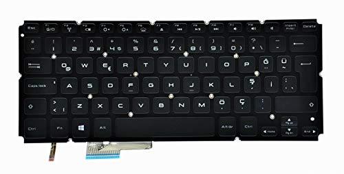 Dell XPS 14 L421x, 15 L521x Ultrabook QWERTY Tastatur mit Hintergrundbeleuchtung 9WKGH