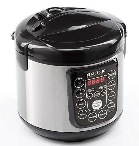 Brock Electronics Mc-1003 multifunctionele keukenmachine, 500 W, 3 liter, 5 decibel, roestvrij staal, 10 snelheden, zwart