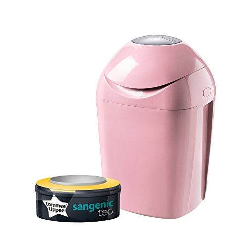 Tommee Tippee - Poubelle à Couches Sangenic Tec, Rose