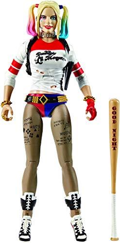 Mattel DC Comics Multiverse Suicide Squad Figure, Harley Quinn, 15cm