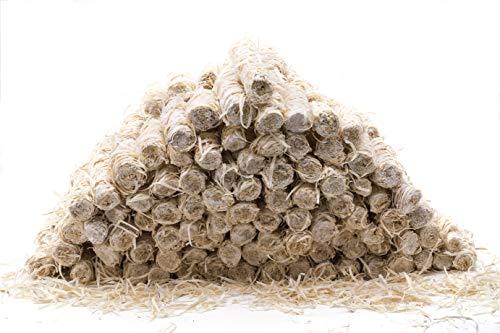 Imkado Bio-Anzünder 5 kg (ca. 300Stk); Holzwolle, Öko-Anzünder für Imker, Imkereibedarf für Smoker