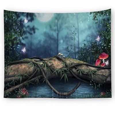 XZPQSSW New Tree Tapices Home Decor Wall Colgando Alfombra Multifuncional Cubra Table Paño Picnic Manta Playa Toalla Tapiz (Color : 07, Size : 100 x 75 CM)