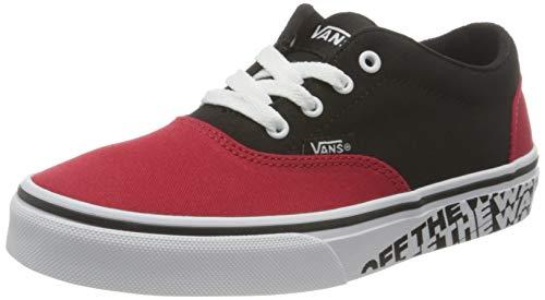 Vans Doheny, Zapatillas Unisex Niños, Otw Sidewall Red/Black, 33 EU