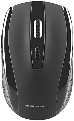 GeneralKeys Funktastatur mit Maus: Pearl Edition Funk-Tastatur- und Maus-Kombination, 2,4 GHz (Funkmaus und Tastatur)