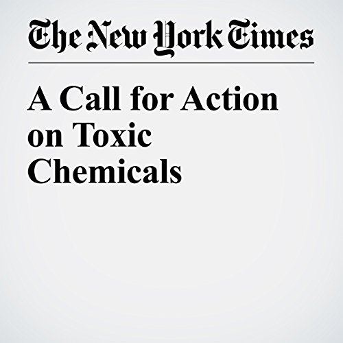 A Call for Action on Toxic Chemicals cover art