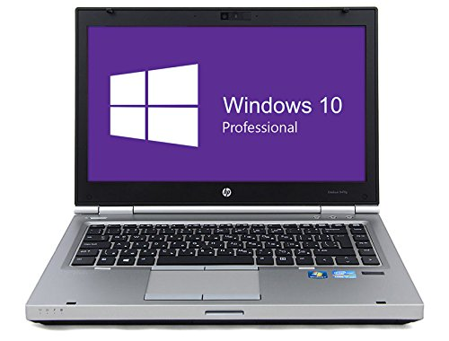 HP Notebook | Elitebook 8470p | 14 Zoll Display (1366 x 768) | Intel Core i5-3210M @ 2,5 GHz | 4GB DDR3 RAM | 500GB HDD | DVD-Brenner | Windows 10 Pro vorinstalliert (Generalüberholt)