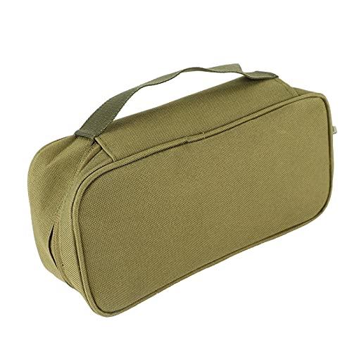 Bolsa de almacenamiento de herramientas EDC, bolsa de almacenamiento de viaje portátil al aire libre, bolsa de herramientas de correas de nailon resistente al desgaste, bolsa de emergencia de transpor