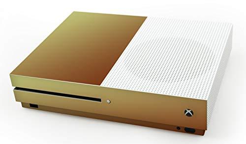 atFoliX Skin compatible con Microsoft Xbox One S, Sticker Pegatina (FX-Variochrome-Mystery), Juego de colores iridiscente multicolor