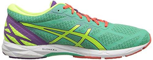 Asics Gel-DS Racer 10 - Zapatillas de Running para Mujer (Talla 36), Color Amarillo, Morado y Verde
