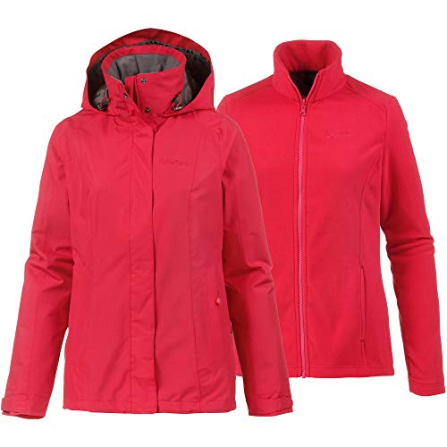 Schöffel Damen 3in1 Jacket Tignes Doppeljacken, Lollipop, 38