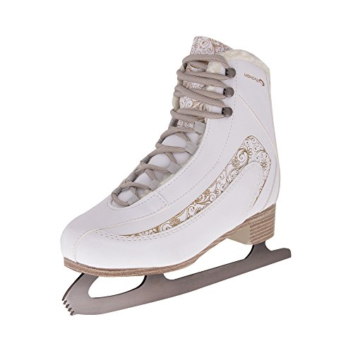 Damen Eiskunstlauf Schlittschuhe, mit Innenfutter, FEMINI Spokey