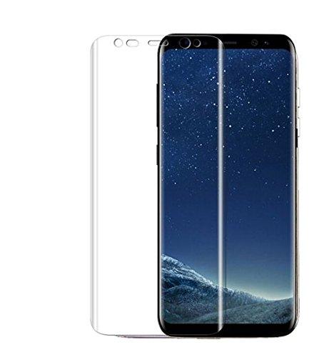 Vidrio de Cubierta Curva Completa Cobertura de Pantalla de Cristal Templado Borde Protector para Samsung Galaxy S6 Edge Plus Protectora película